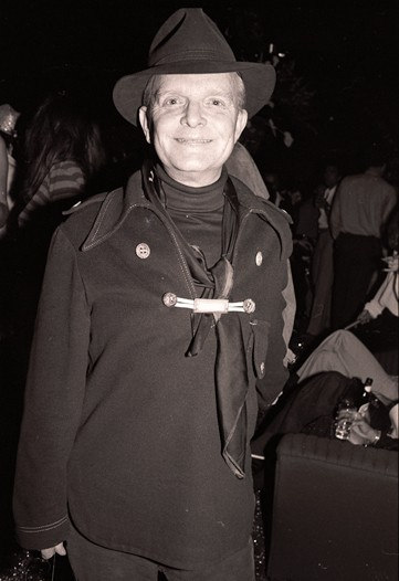 Even Truman Capote tries to lighten up for some NYE mayhem