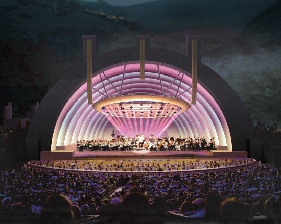 Hollywood Bowl rendering