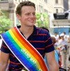 Jonathan Groff at New York Pride by JJ Keyes08