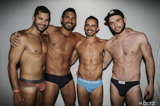 DWorld Underwear Party in Cherry Grove, Fire Island. 2014