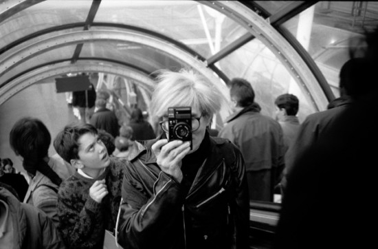 Andy, Centre Pompidou 1986