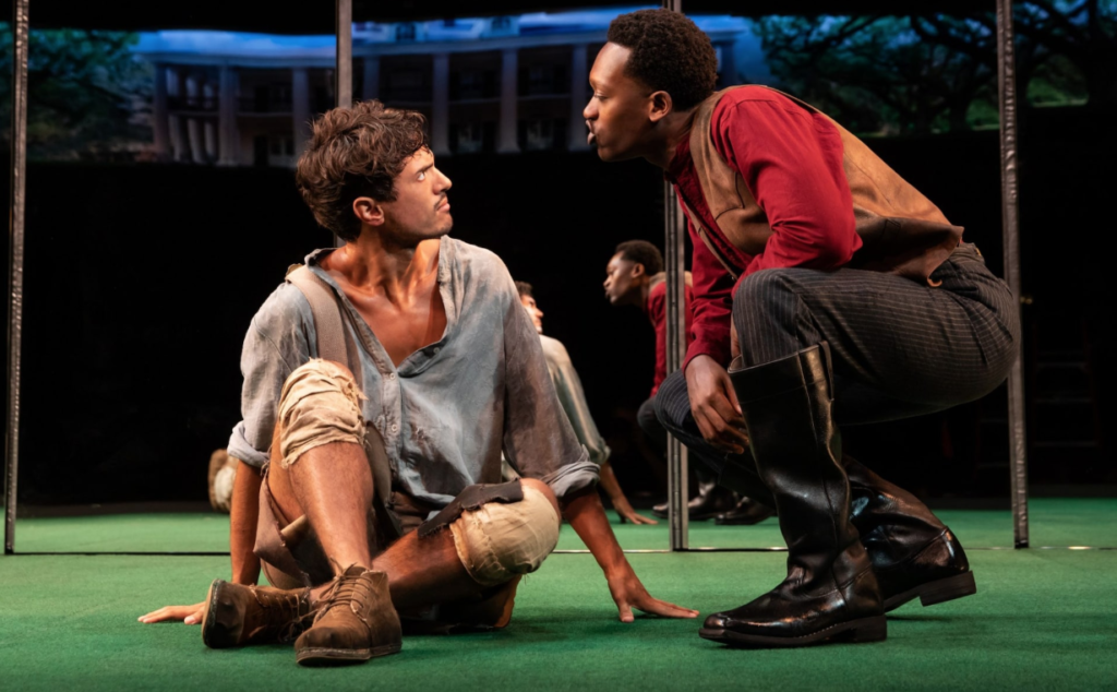 Dustin (James Cusati-Moyer), and Gary (Ato Blankson-Wood) in Slave Play