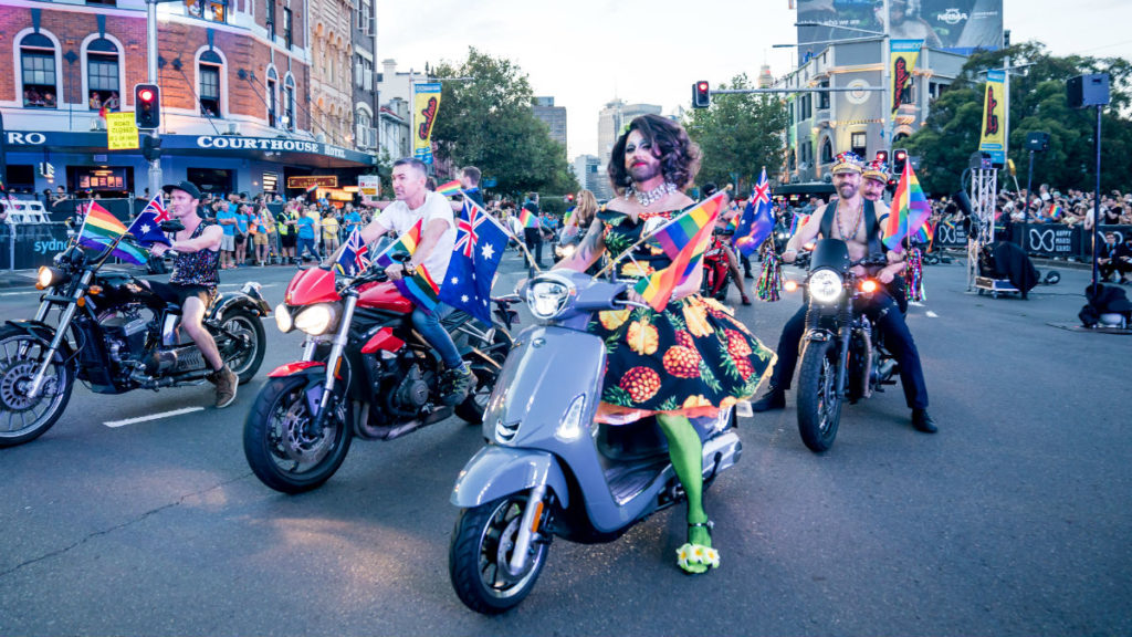 Sydney Gay and Lesbian Mardi Gras  (Photo: Jeffrey Feng Photography)