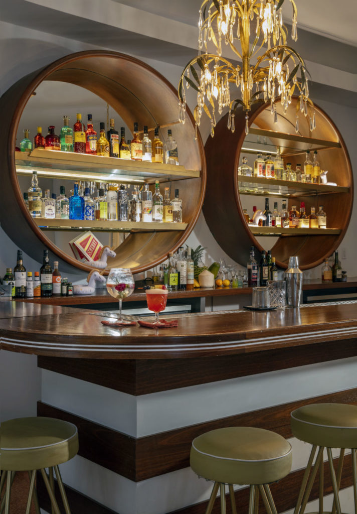 The bar at AxelBeach Miami