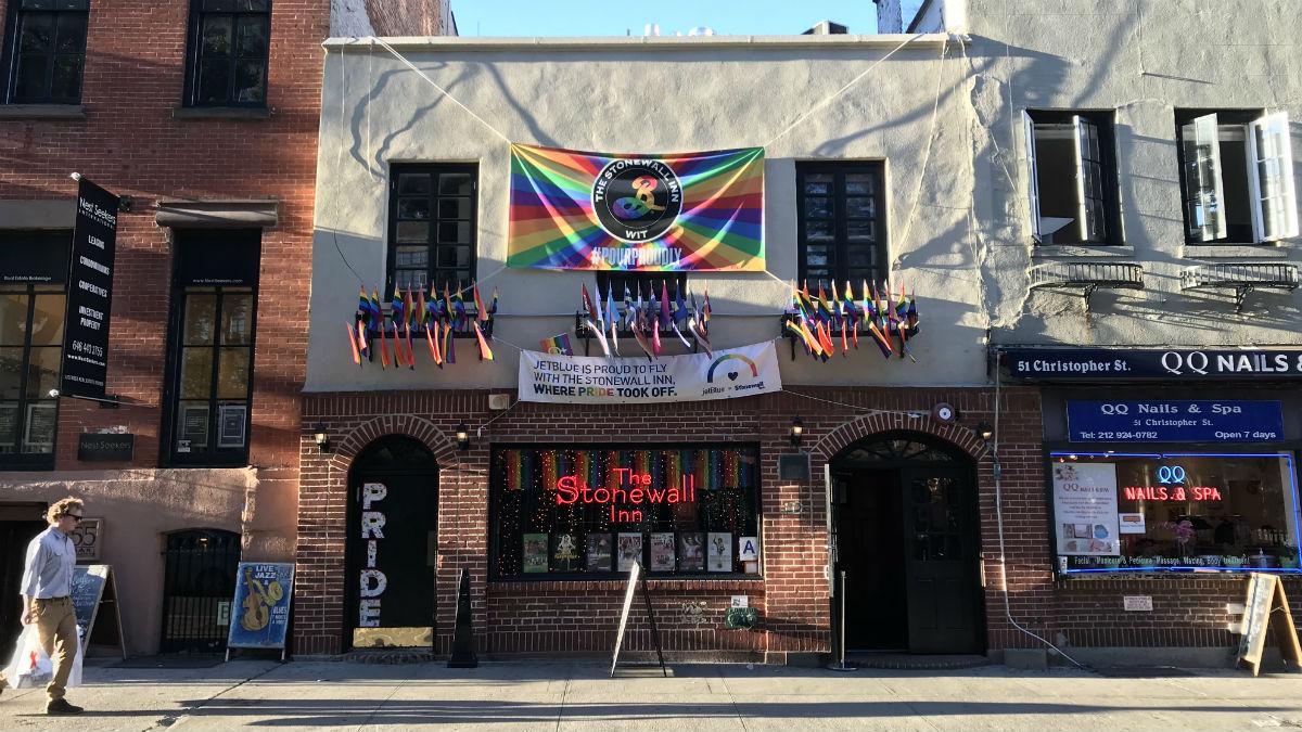 The Stonewall Inn in New York City