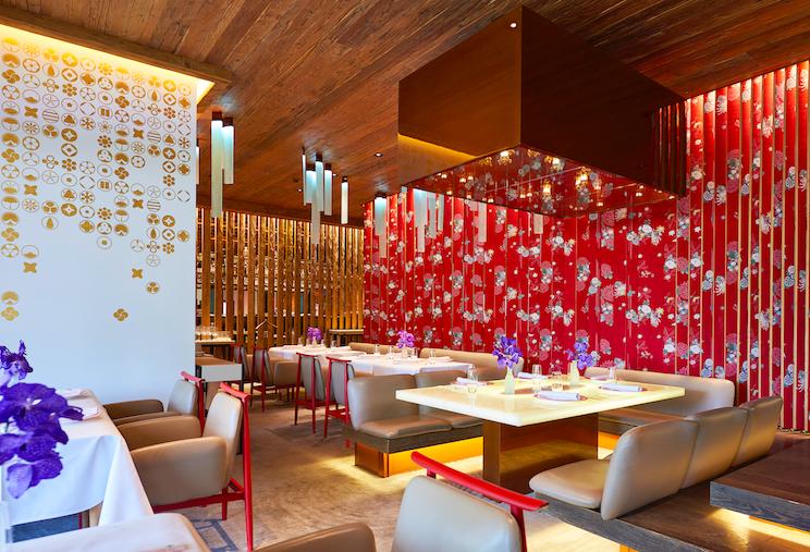 Restaurant Megu, Alpina Gstaad