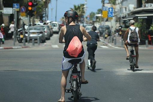 The streets of Tel Aviv