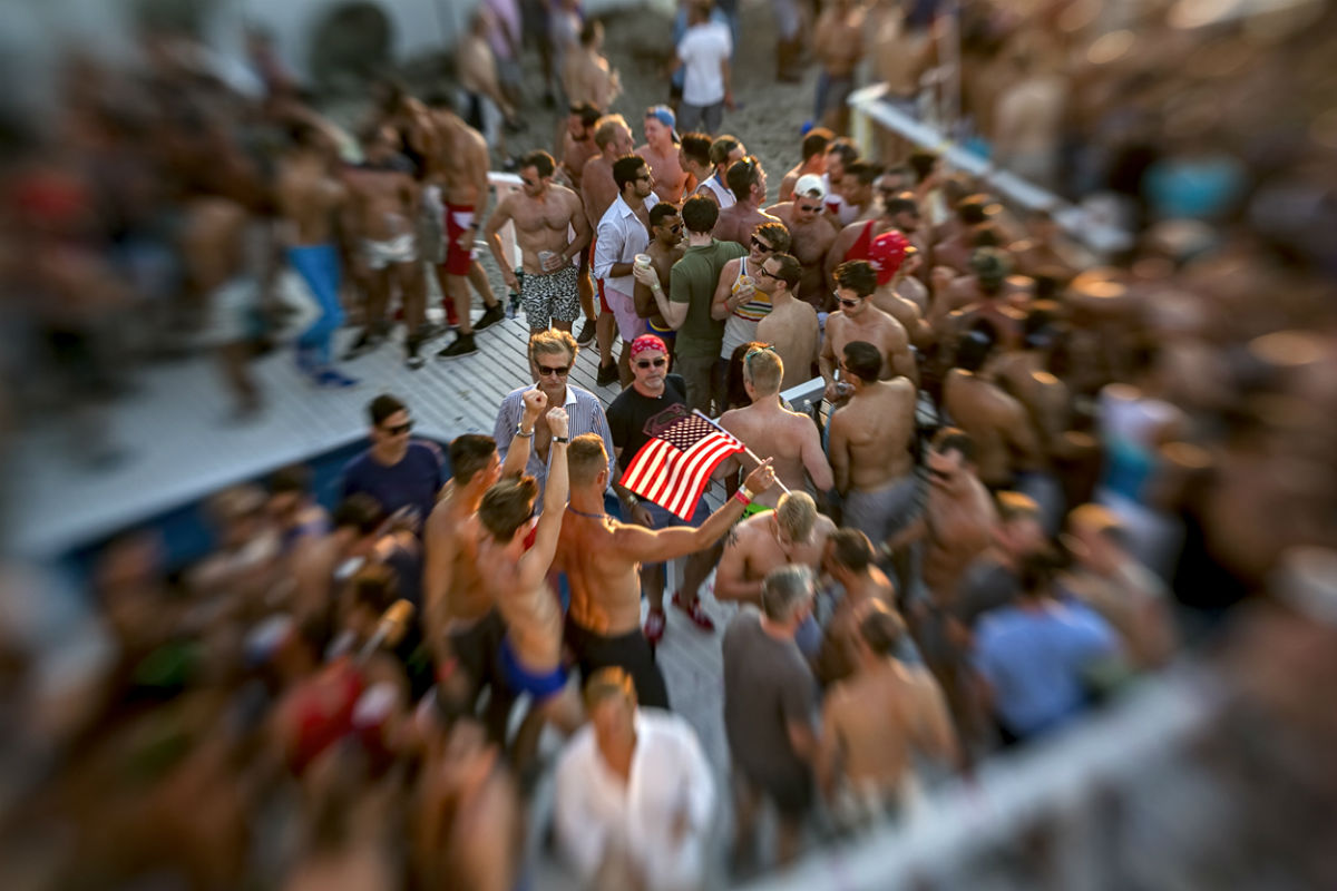 A Fire Island party, 2013 (Photo: koitz)