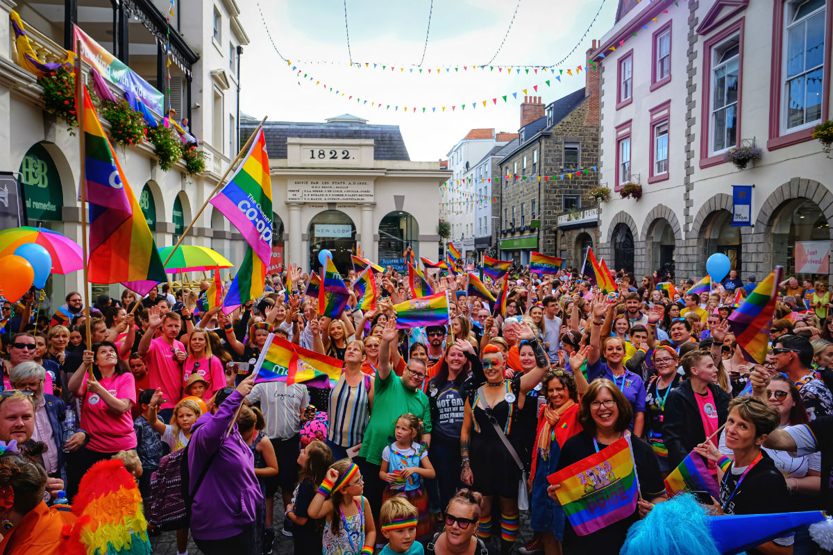 Guernsey - Channel Islands Pride 2020