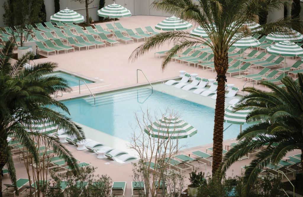The Park MGM pool