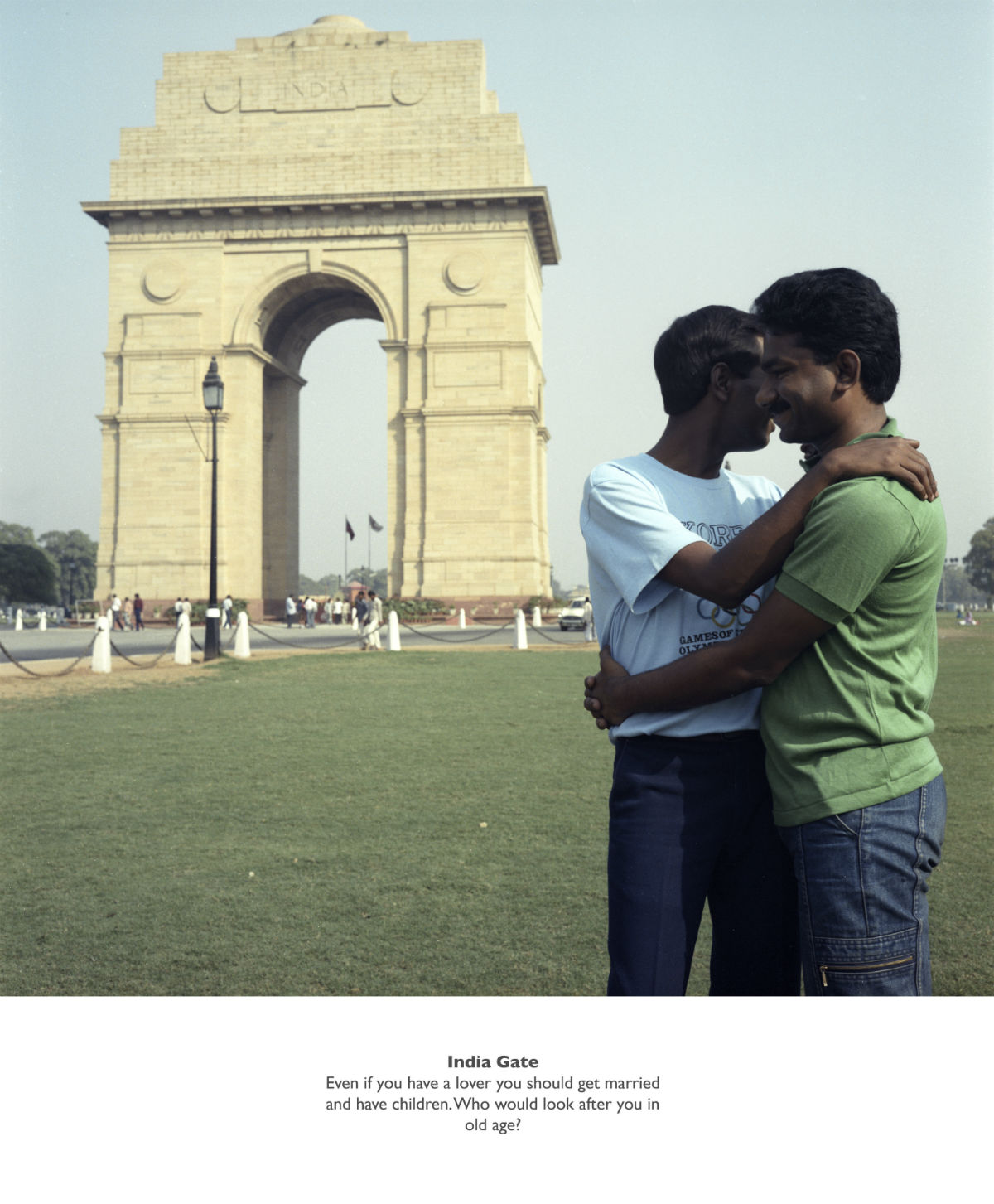 Sunil Gupta India Gate​, 1987 From the series ​Exiles