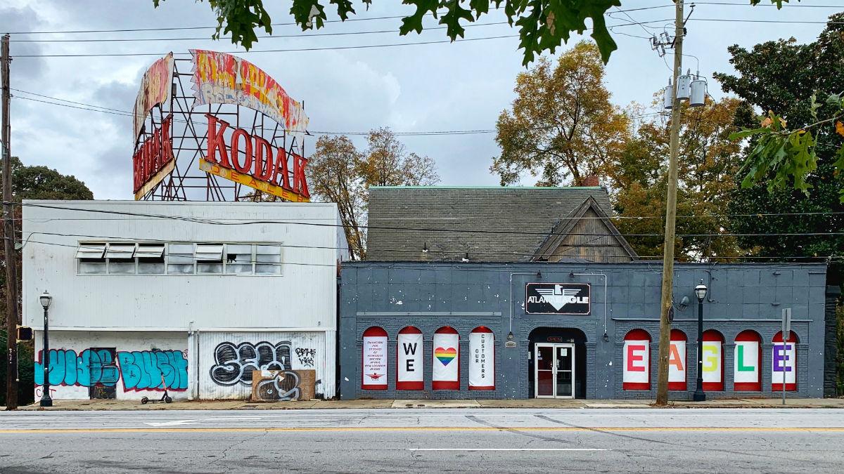 The Atlanta Eagle and Kodak Buildings