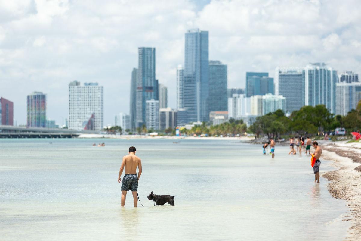 Hobie Island Beach Park, Miami