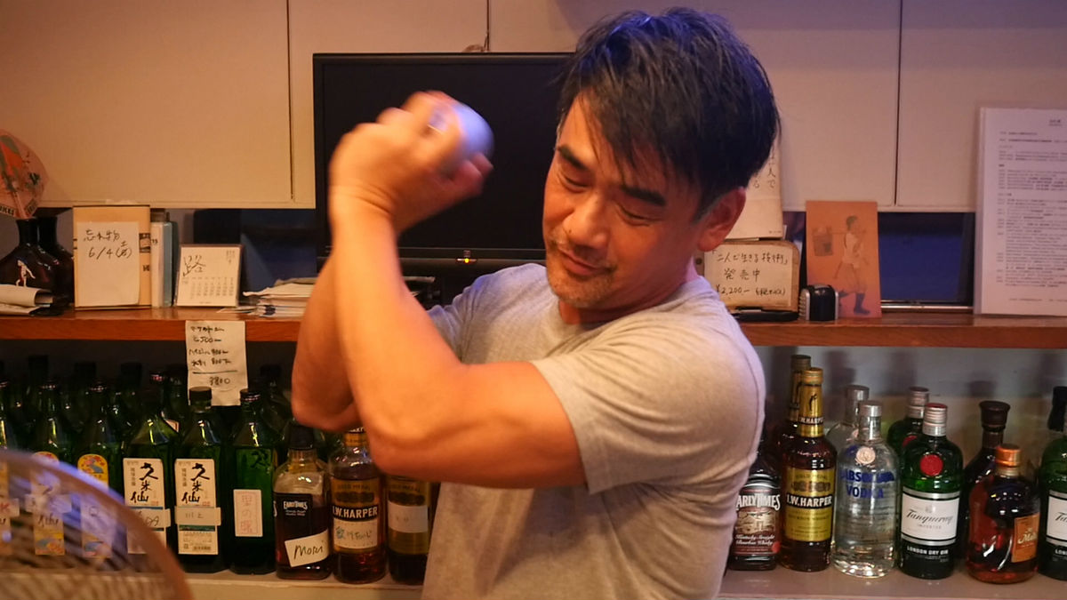 Contemporary artist, bartender and activist, Akira The Hustler