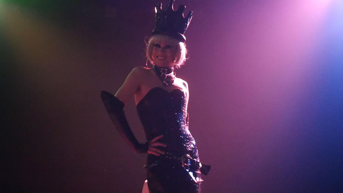 Drag queen Margarette at Department H