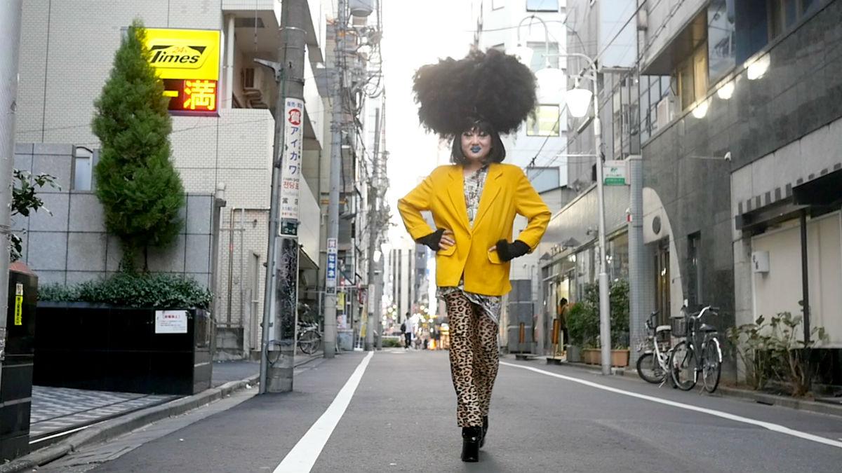 Drag performer Vivienne Sato