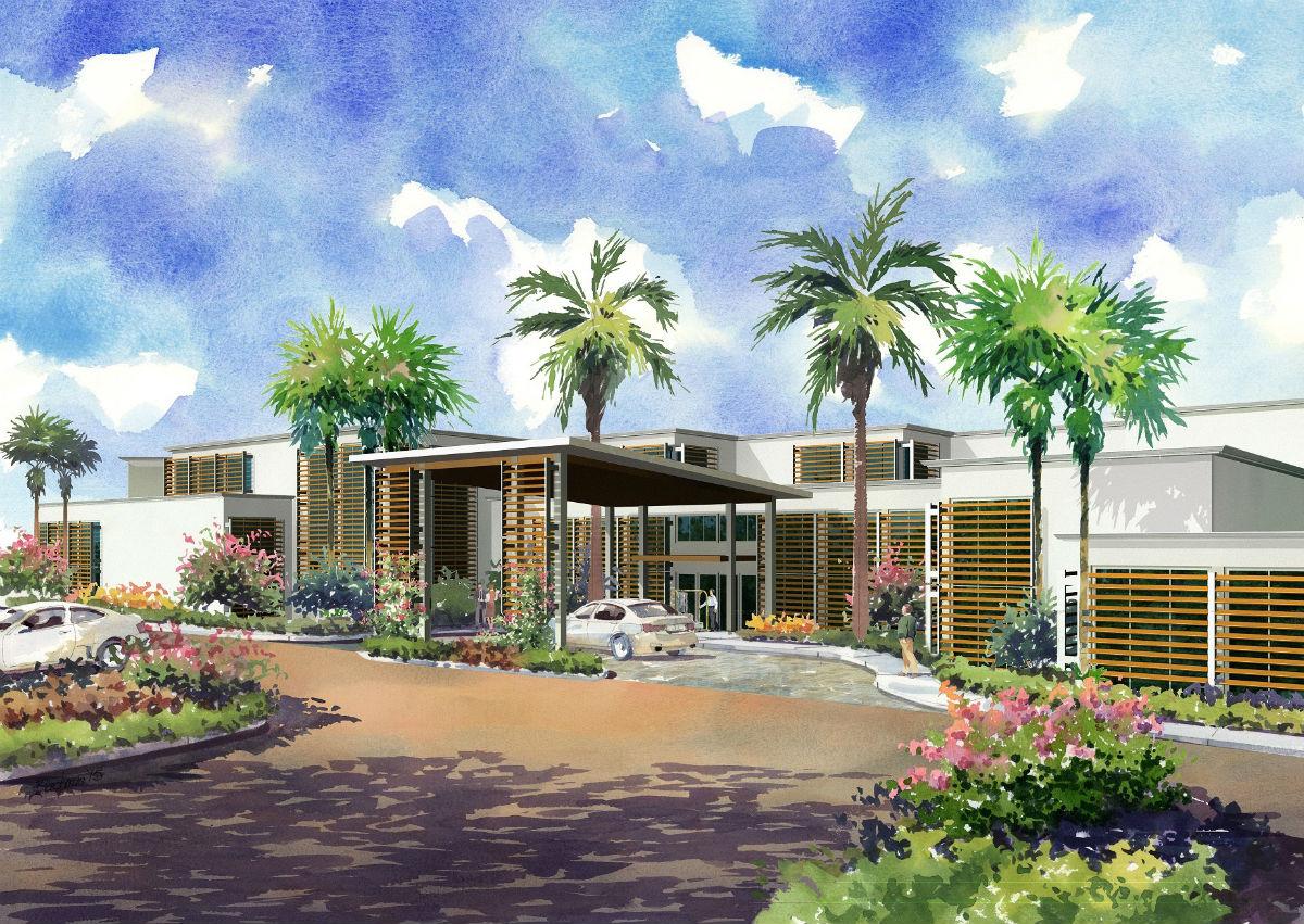 Capitana Key West (artist's rendering)