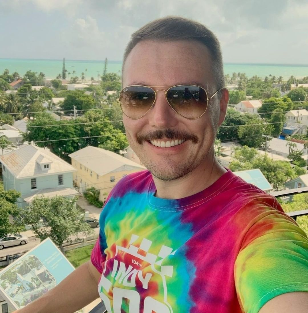 The view from the Key West Lighthouse