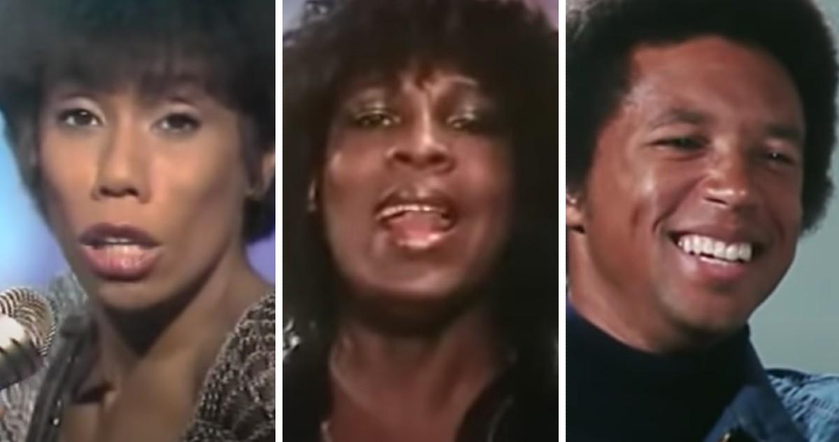L-R: Sharon Redd, Sylvester and Arthur Ashe