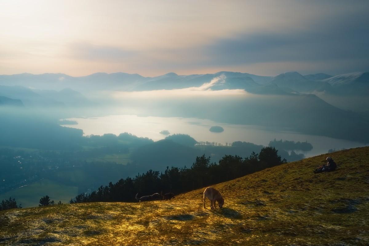 Latrigg, near Keswick in the Lake District