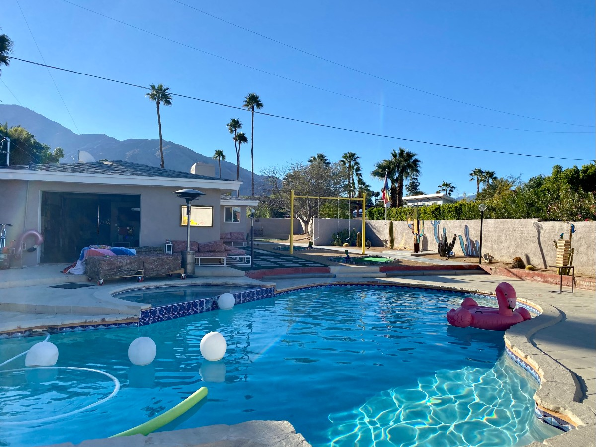 Willam's Desert Disco Compound in Palm Springs