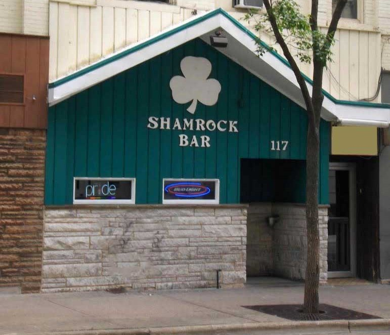The Shamrock Bar and Grille, 117 W Main Street, Madison, Wisconsin