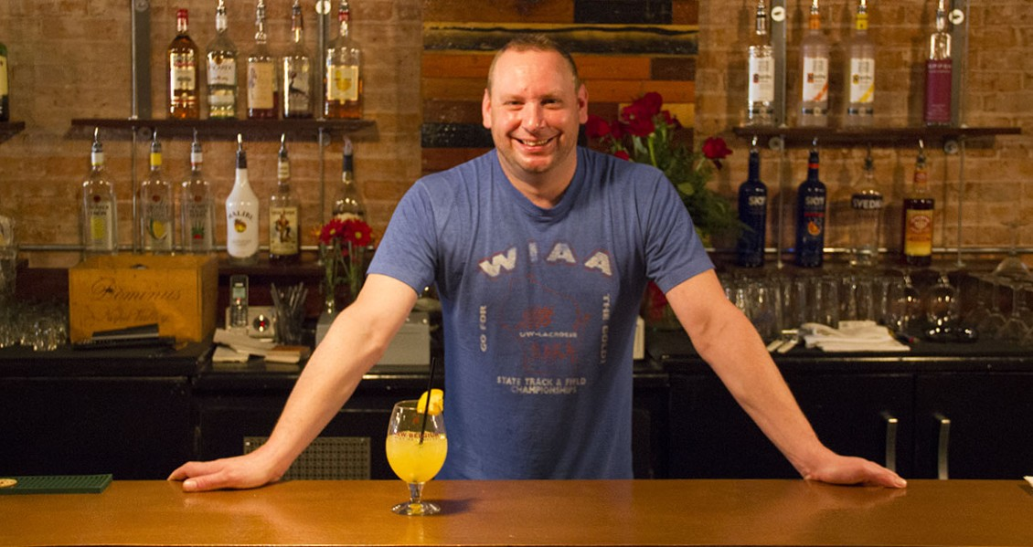 Owner Bob Mahr at The Shamrock Bar & Grille