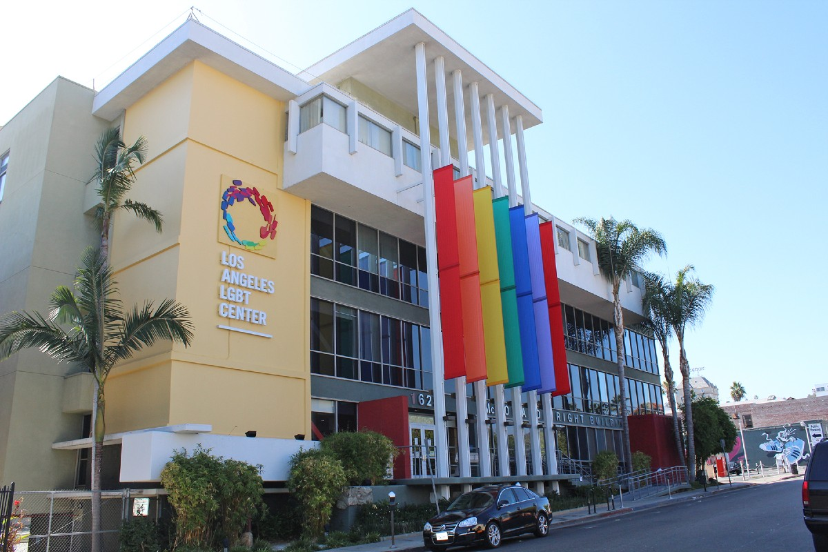 The LA LGBT Center's McDonald/Wright Buiilding, its former headquarter and now home to it health services