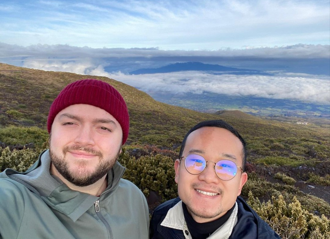 Exploring the summit of Haleakala, Hawaii