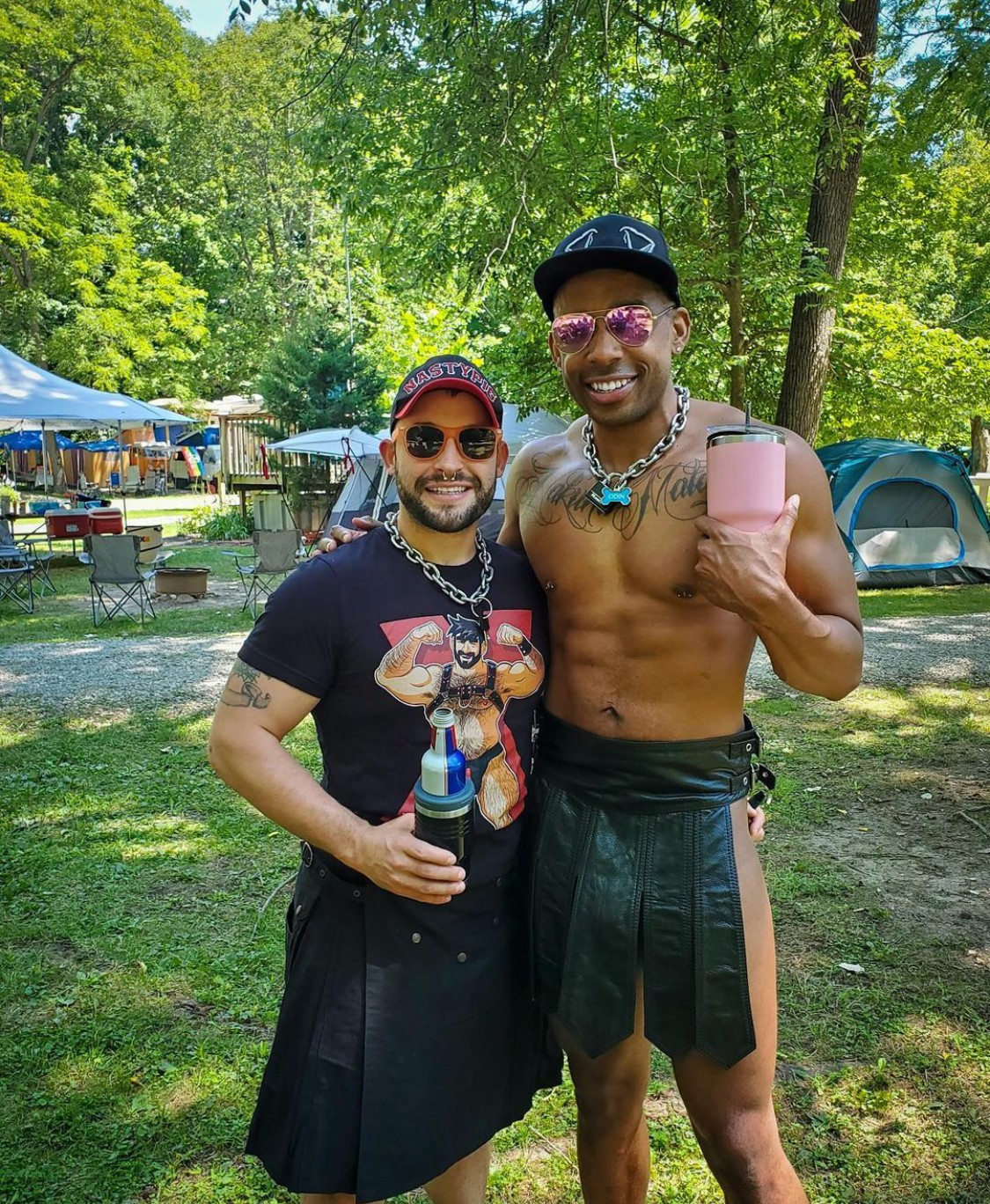 Camping at Freedom Valley - one of the best gay campgrounds in North America