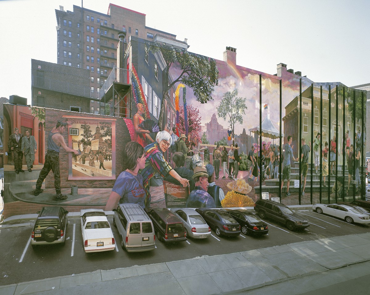 Pride and Progress by Ann Northrup for Mural Arts Philadelphia