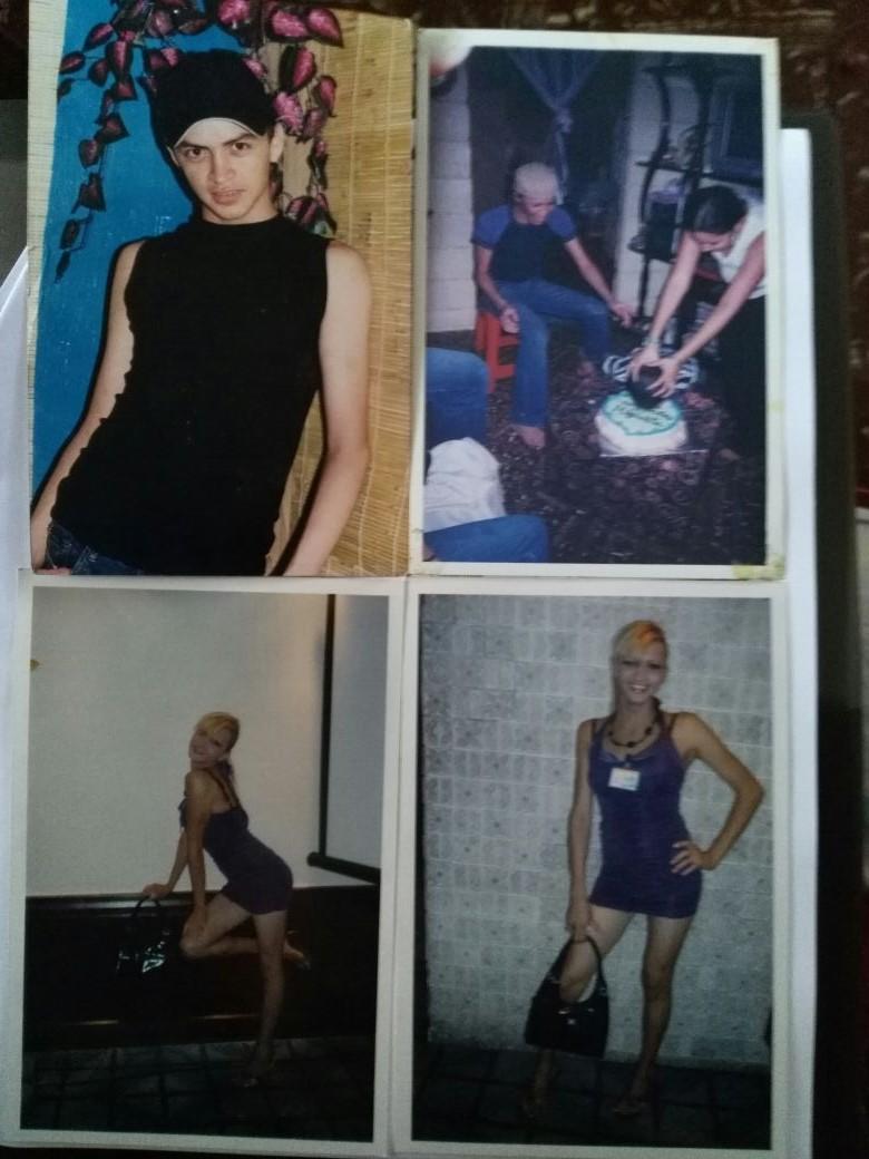 Photo: 4 print photos of Vicky Hernández