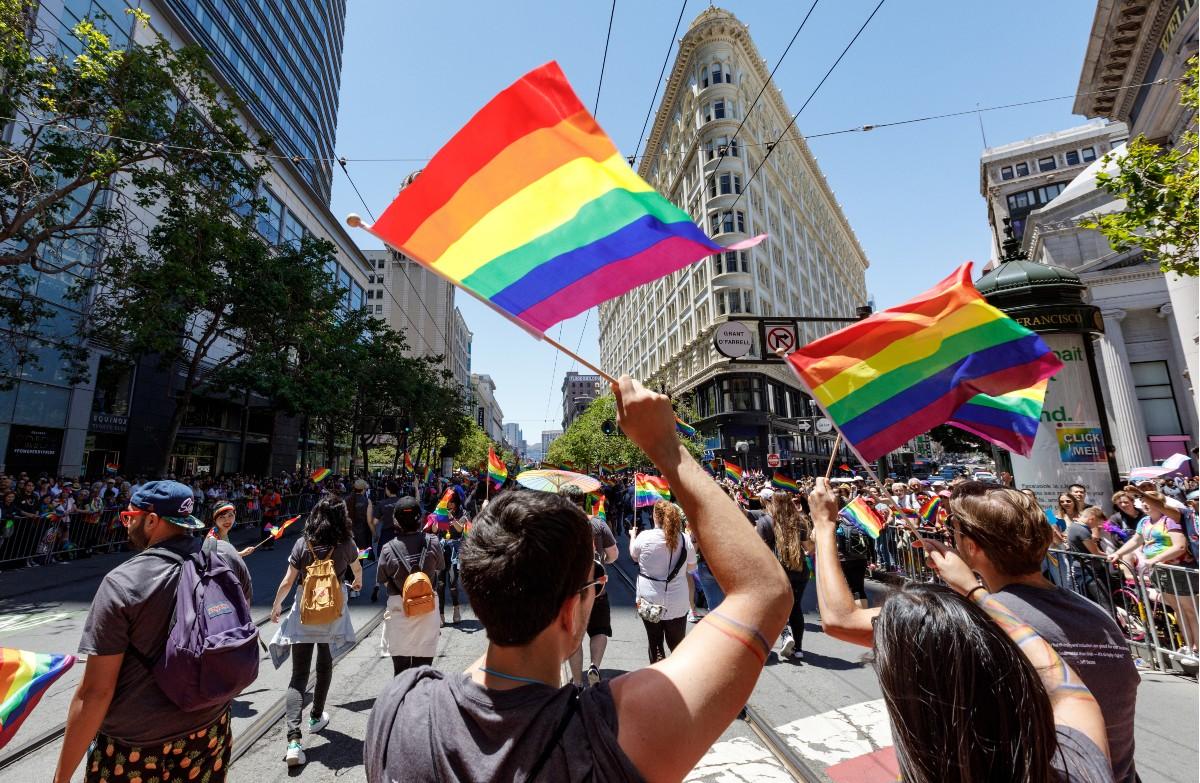 Marchers at San Francisco Pride in 2019 (Photo: San Francisco Travel Association)