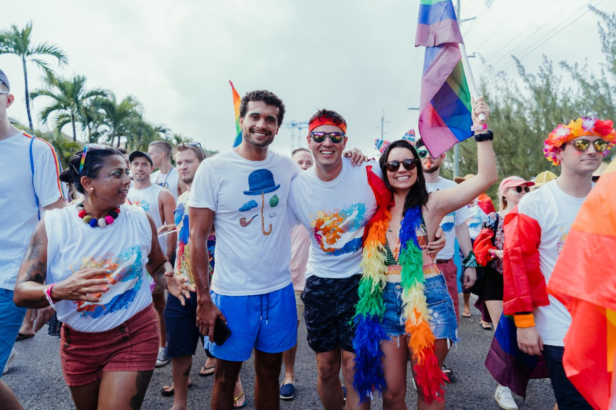 The first Cayman Islands Pride festival on July 31, 2021