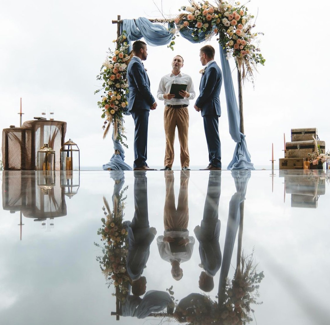 Allen and Chase married in Phuket, Thailand