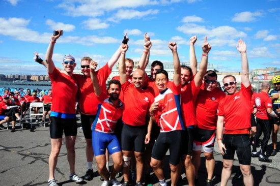 Boston to NY AIDS Ride 2013 raises over $600,000 - Glennda Testone, E.D.