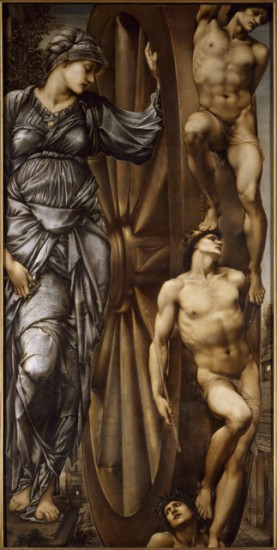 2. Burne-Jones_Roue de la fortune