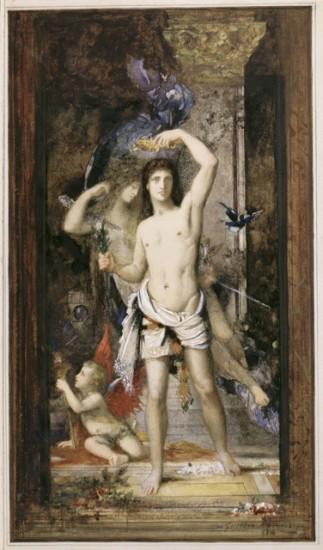 29. Gustave Moreau - Le Jeune Homme et la Mort